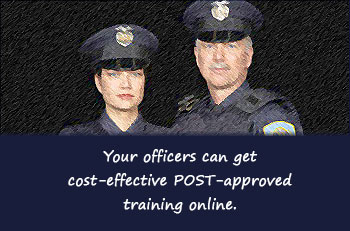 Missouri POST approved training online.